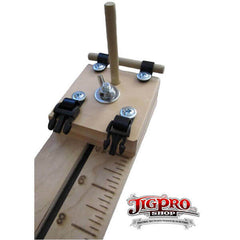 "Jig Pro 10"" Pocket Pro Jig With Multi-Monkey Fist Jig by Stockstill Outdoor - Buckle-less Bracelet Dowels 2"