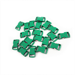 Knottology .5 Metal Buckles - Green by Stockstill Outdoor Supply
