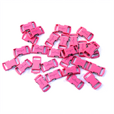 Knottology .5 Metal Buckles - Hot Pink by Stockstill Outdoor Supply