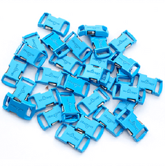 Knottology .5 Metal Buckles - Neon Blue by Stockstill Outdoor Supply