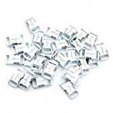 Knottology .5 Metal Buckles - White by Stockstill Outdoor Supply
