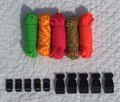 100 ft Loud & Proud Combo Paracord Kit by Stockstill Outdoor Supply