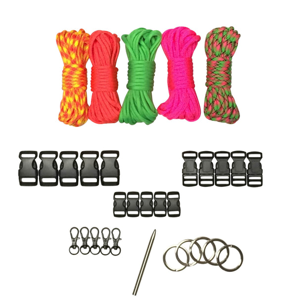 100 ft. Loud & Proud Combo Paracord Kit XXL by Stockstill Outdoor Supply