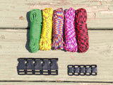 100 ft. MultiColored Combo Paracord Kit by Stockstill Outdoor Supply