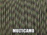 MultiCamo Type III 550 Paracord by Stockstill Outdoor Supply