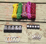100 ft. Multicolored Combo Paracord Kit XL by Stockstill Outdoor Supply