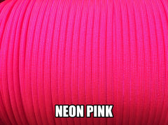 Neon Pink Type III 550 Paracord by Stockstill Outdoor Supply
