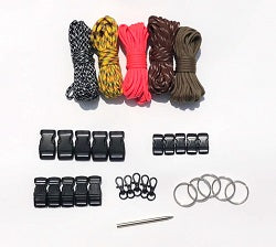 Odd Assortment Paracord Kit XXL by Stockstill Outdoor Supply