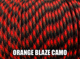 Orange Blaze Camo Type III 550 Paracord by Stockstill Outdoor Supply