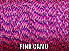 Pink Camo Type III 550 Paracord by Stockstill Outdoor Supply