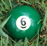 Replacement Billiard Balls by Stockstill Outdoor Supply (6 Ball)