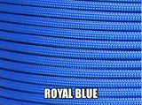 Royal Blue Type III 550 Paracord by Stockstill Outdoor Supply