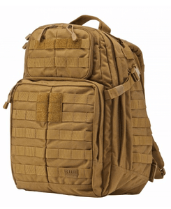 5.11 Rush 24 Backpack by Stockstill Outdoor Supply - Double Tap - Side View