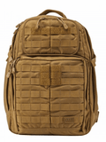 5.11 Rush24 Backpack by Stockstill Outdoor Supply - Flat Dark Earth Front
