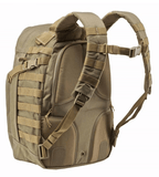 5.11 Rush24 Backpack by Stockstill Outdoor Supply - Sandstone - Back View