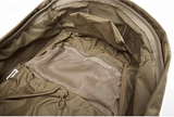 5.11 Rush24 Backpack by Stockstill Outdoor Supply - Sandstone - Inside View