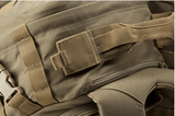 5.11 Rush24 Backpack by Stockstill Outdoor Supply - Sandstone - Closeup