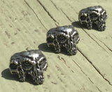 Schmuckatelli Gemini Twins Pewter Bead - Set of 3 by Stockstill Outdoor Supply