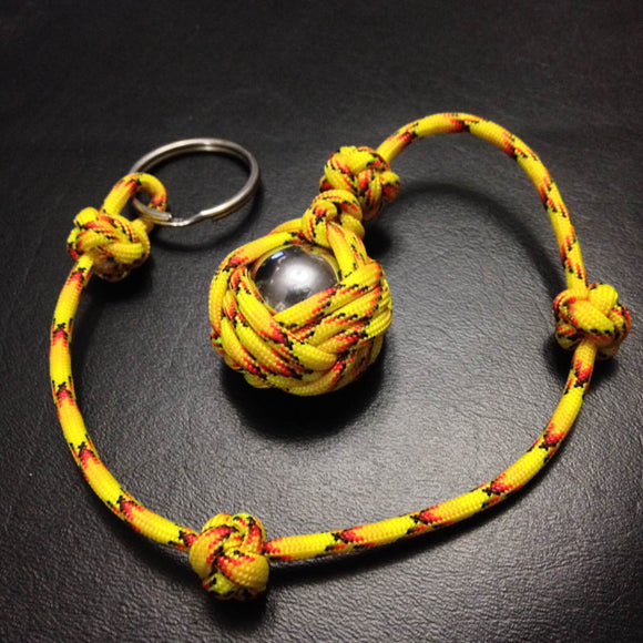 The Celtic Slammer Paracord Key Chain  - Explode - by Opossum's Paracord Stockstill Outdoor Supply