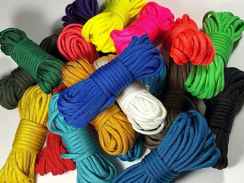 Type III 550 Paracord - Solids by Stockstill Outdoor Supply