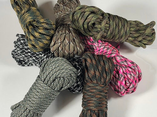 Type III 550 Paracord - Camo Patterns by Stockstill Outdoor Supply