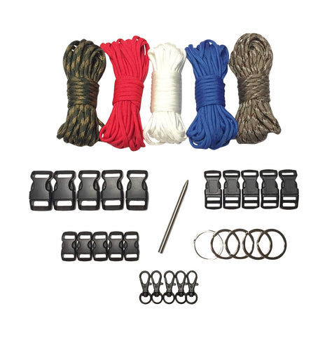 100 ft USA Paracord Kit XXL by Stockstill Outdoor Supply
