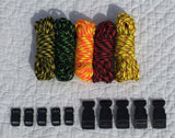100 ft Zombie Combo Paracord Kit by Stockstill Outdoor Supply