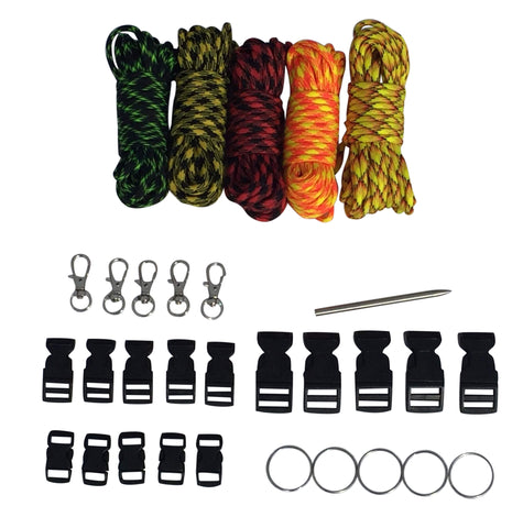 100 ft Zombie Paracord Kit XXL by Stockstill Outdoor Supply