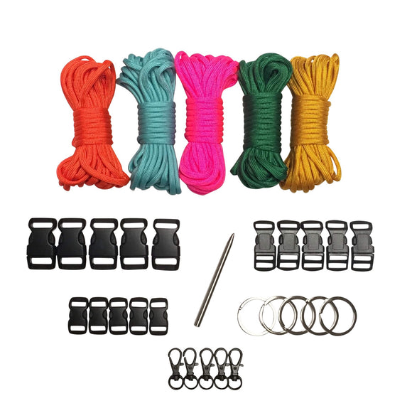 100 ft. Hard Candy Paracord Kit XXL by Stockstill Outdoor Supply