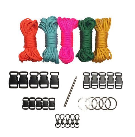 100 ft Hard Candy Paracord Kit XXL by Stockstill Outdoor Supply