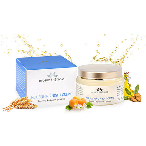 Organic Therapie Nourishing Night Crème Review by Tz