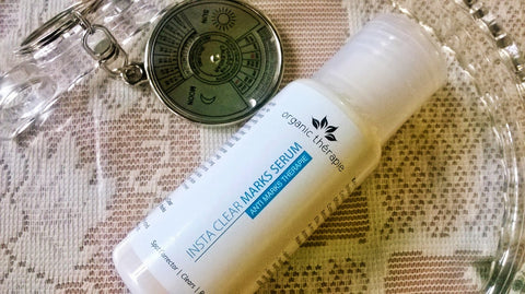 Organic Therapie Insta Clear Marks Serum Review By Jhilmil