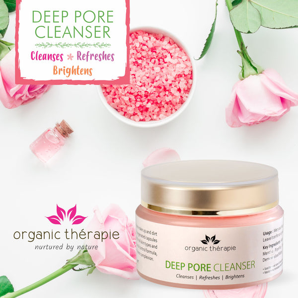 Deep Pore Cleanser<br/><em>• Cleanses • Refreshes • Brightens</em><br/>