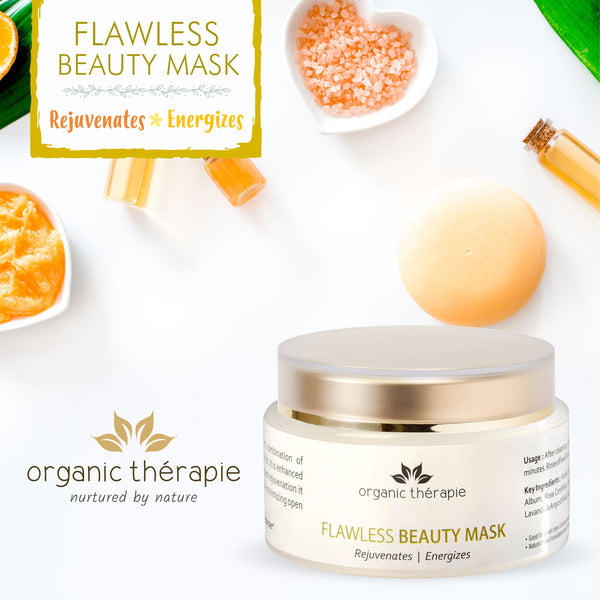 Flawless Beauty Mask<br/><em>• Rejuvenates • Energizes</em><br/>
