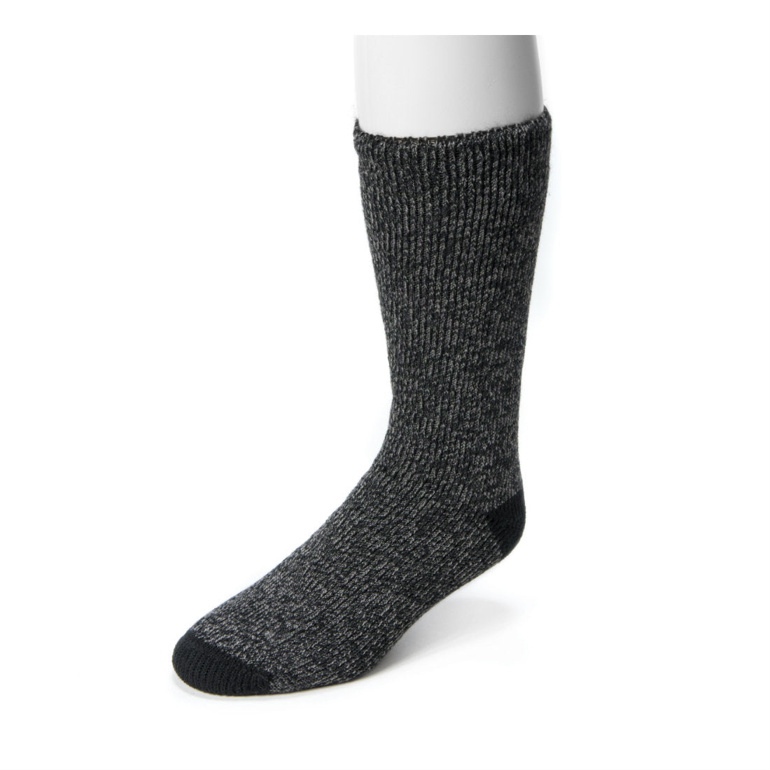 Muk Luks Thermal Boot Socks Black Size 10 - 13