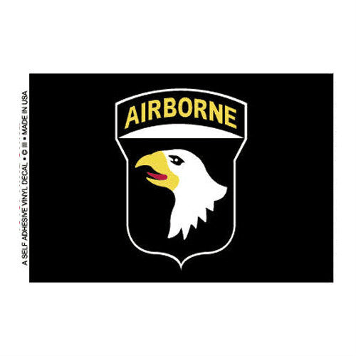 101st Airborne Decal - Indy Army Navy