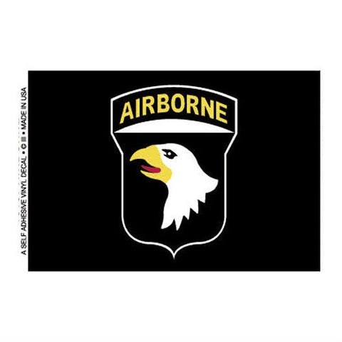 101st Airborne Decal