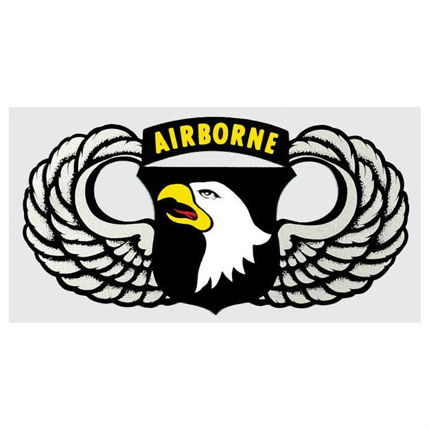 101st Airborne Jump Wing Decal - Indy Army Navy