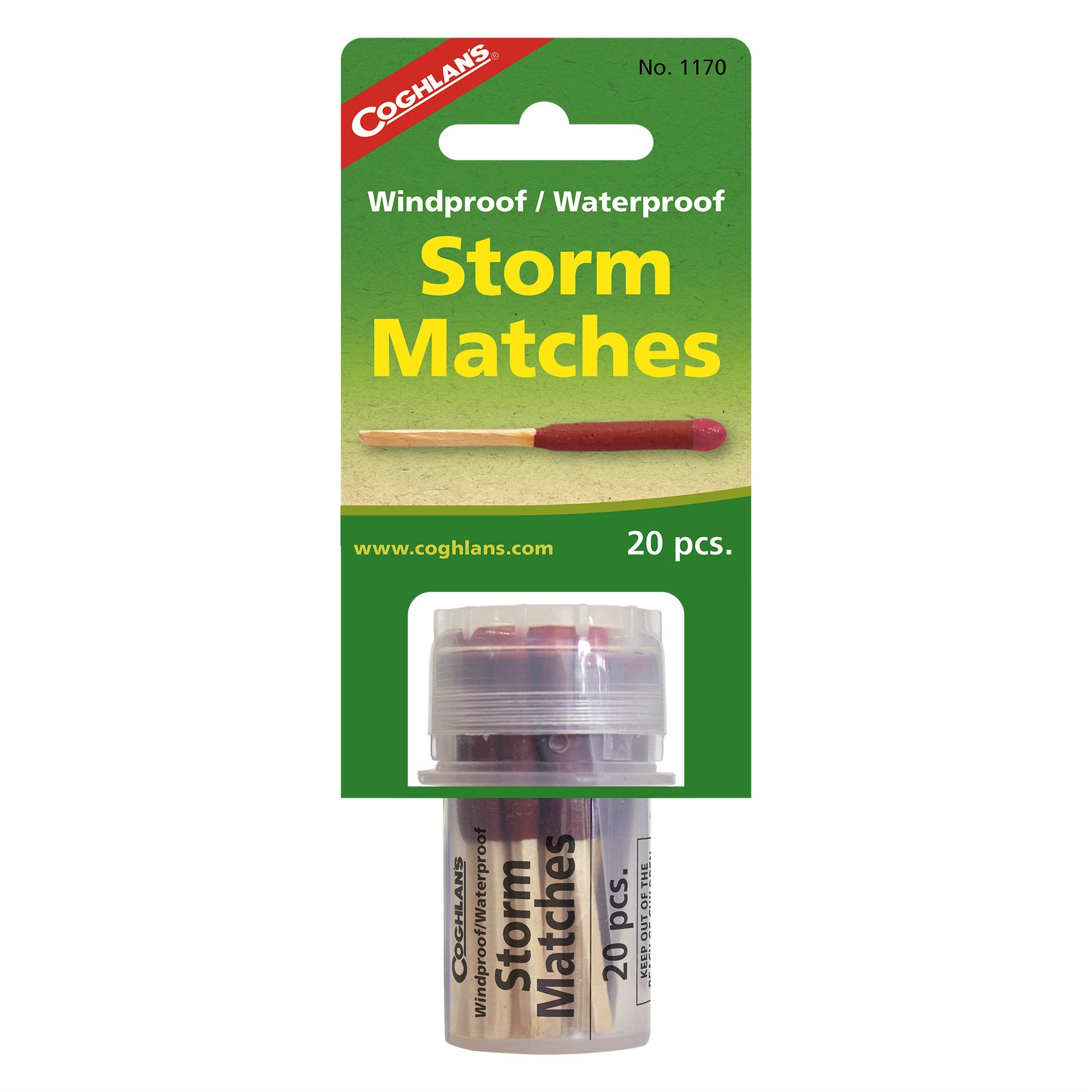 Coghlan's Wind / Waterproof Storm Matches
