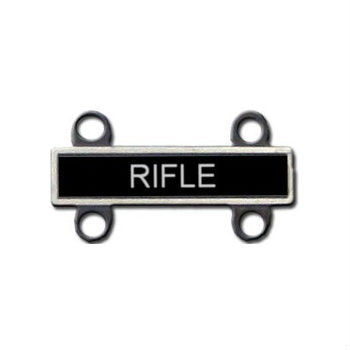 Army Rifle Qualification Attachment Silver Ox
