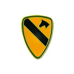 1st Cavalry Hat Pin