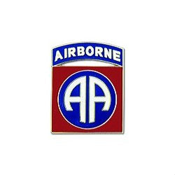 82nd Airborne Division Hat Pin (7/8 Inch)