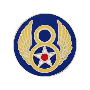 8th Air Force Hat Pin (3/4 Inch)