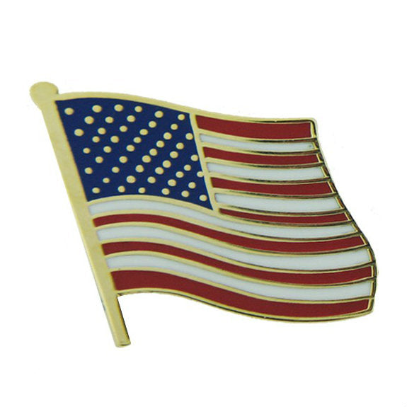 American Flag Hat Pin (3/4 Inch)