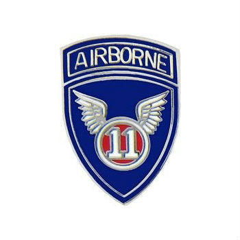 11th Airborne Hat Pin (1 Inch) - Indy Army Navy