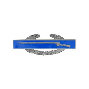 Combat Infantry Badge Silver Ox - Indy Army Navy