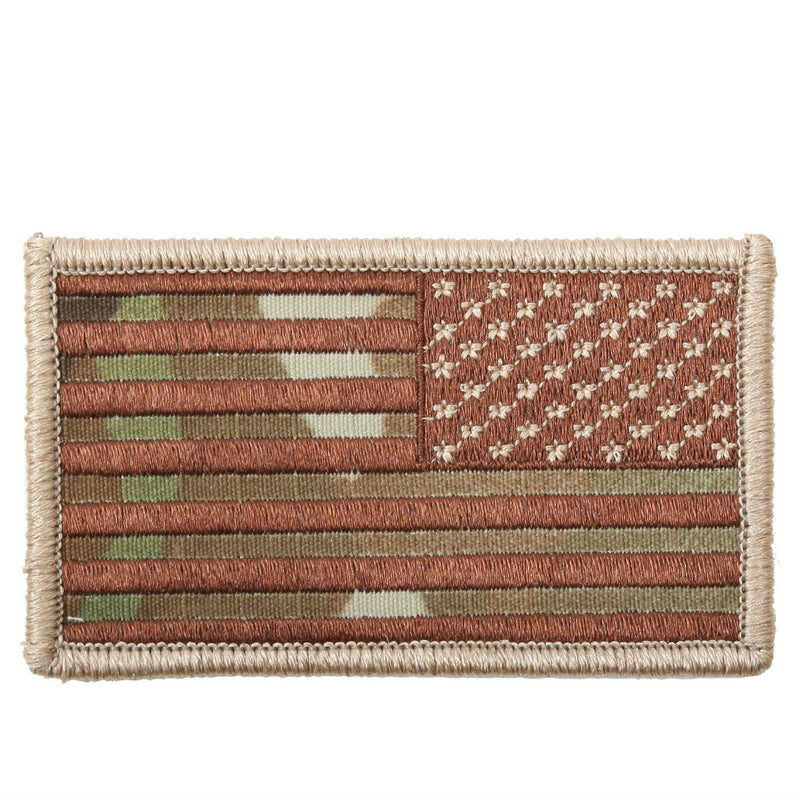 Multicam Reverse Hook & Loop Flag Patch