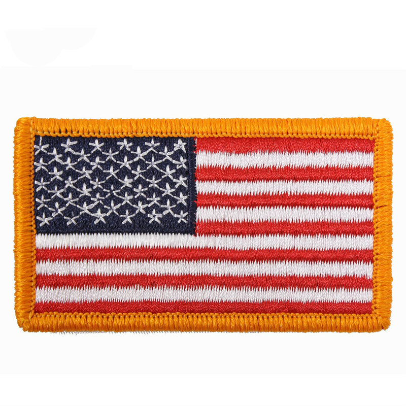 American Flag Hook & Loop Patch