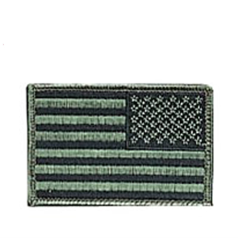 Reverse Subdued American Flag Patch