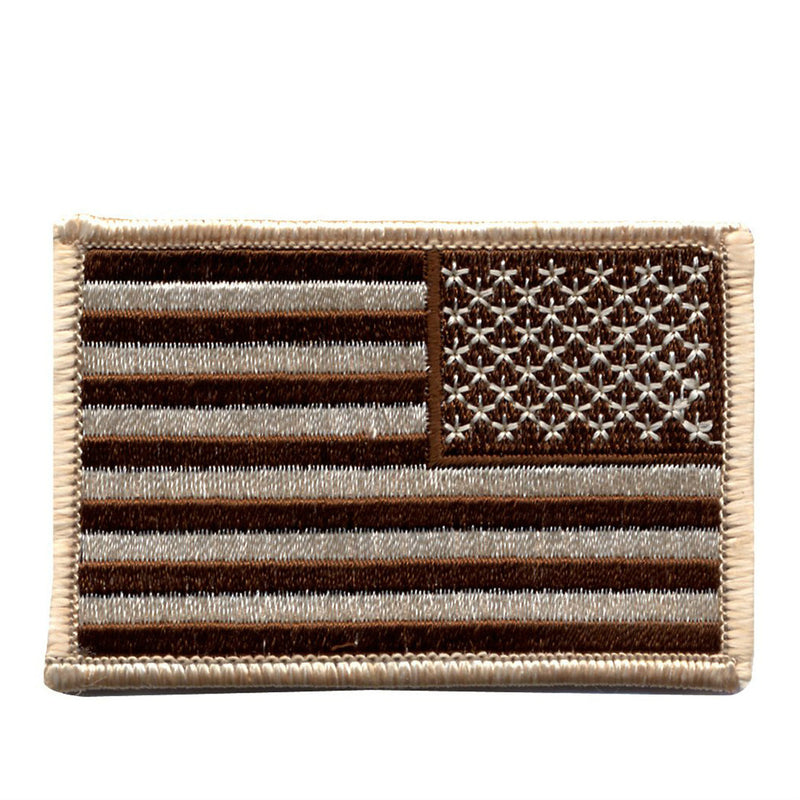 Reverse Desert American Flag Patch